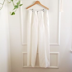 Pants - The script white pants size 6